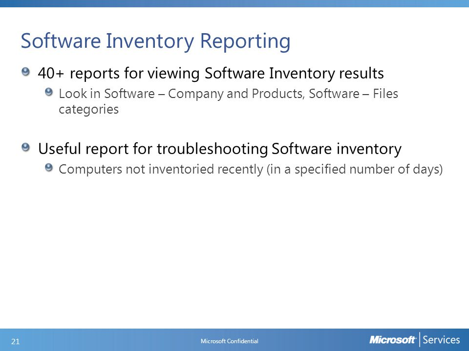 Lab: Customizing Hardware and Software Inventory
