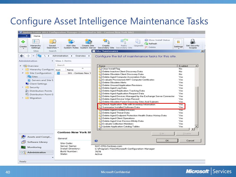 Asset Intelligence changes in SP1