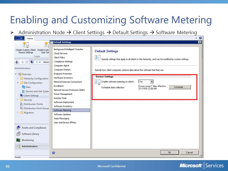 Software Metering Components