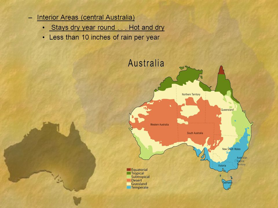 Interior Areas (central Australia)