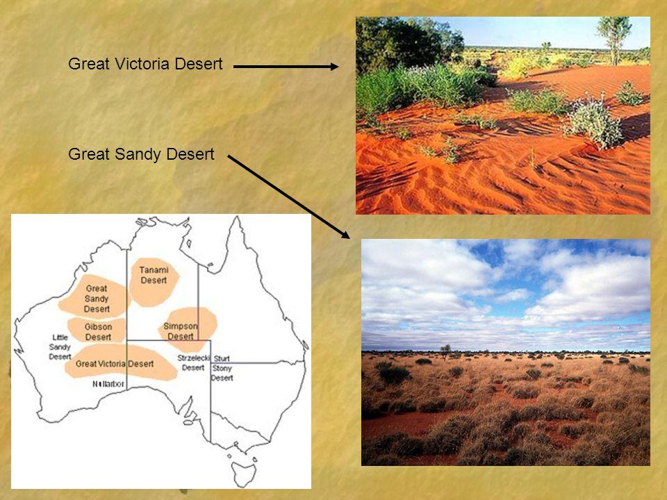 Great Victoria Desert Great Sandy Desert