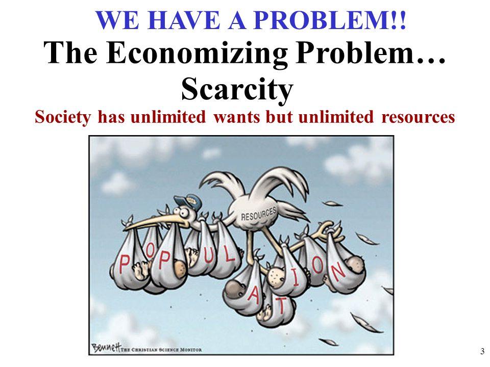 The Economizing Problem…