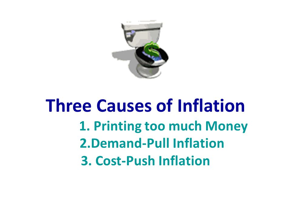 Three Causes of Inflation