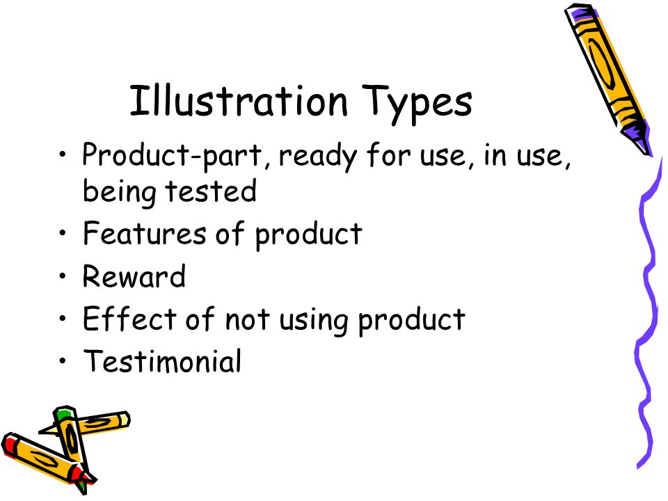 Illustration Types Product-part, ready for use, in use, being tested