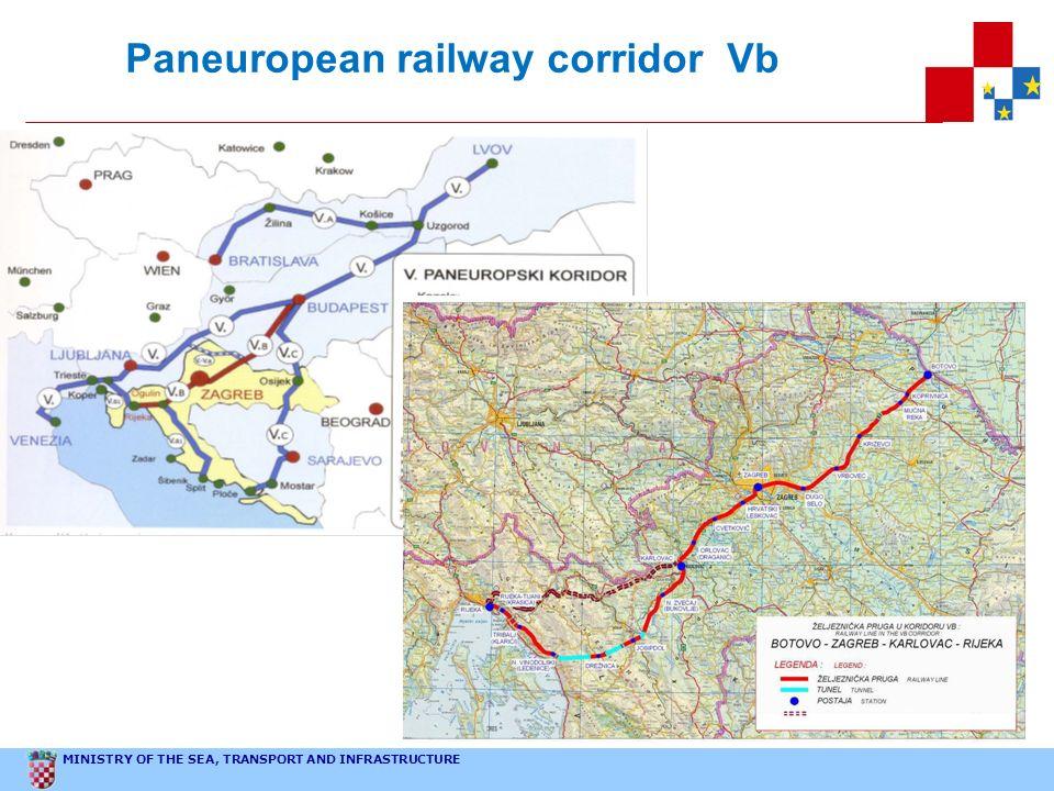 Paneuropean railway corridor Vb