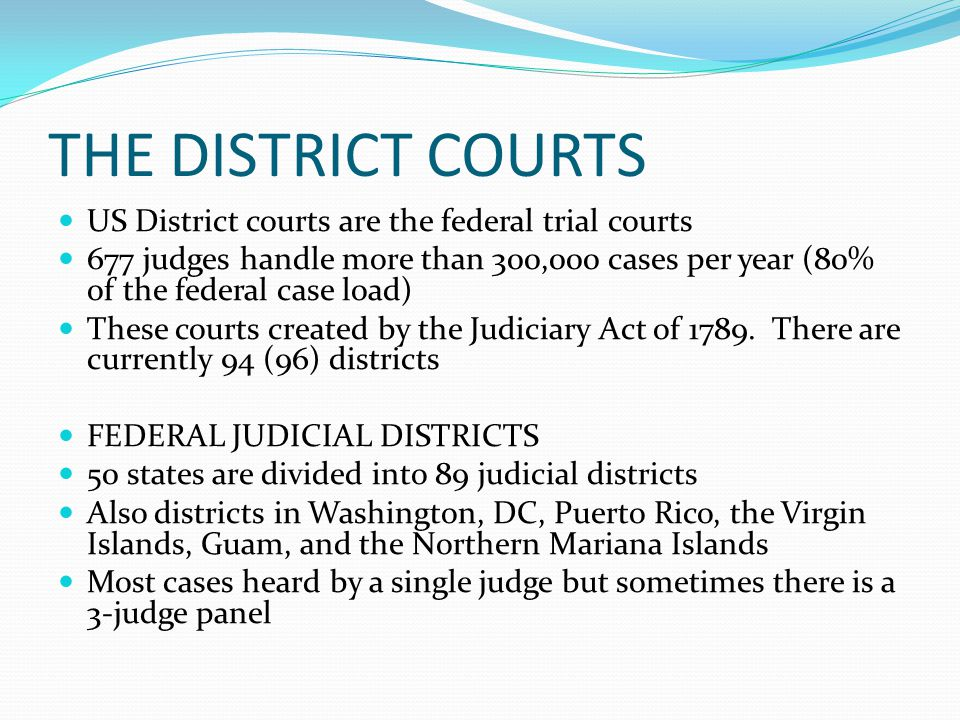 Federal Judges In The Us Virgin Islands