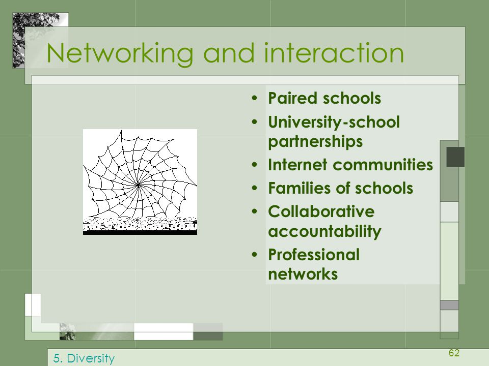 Networking and interaction