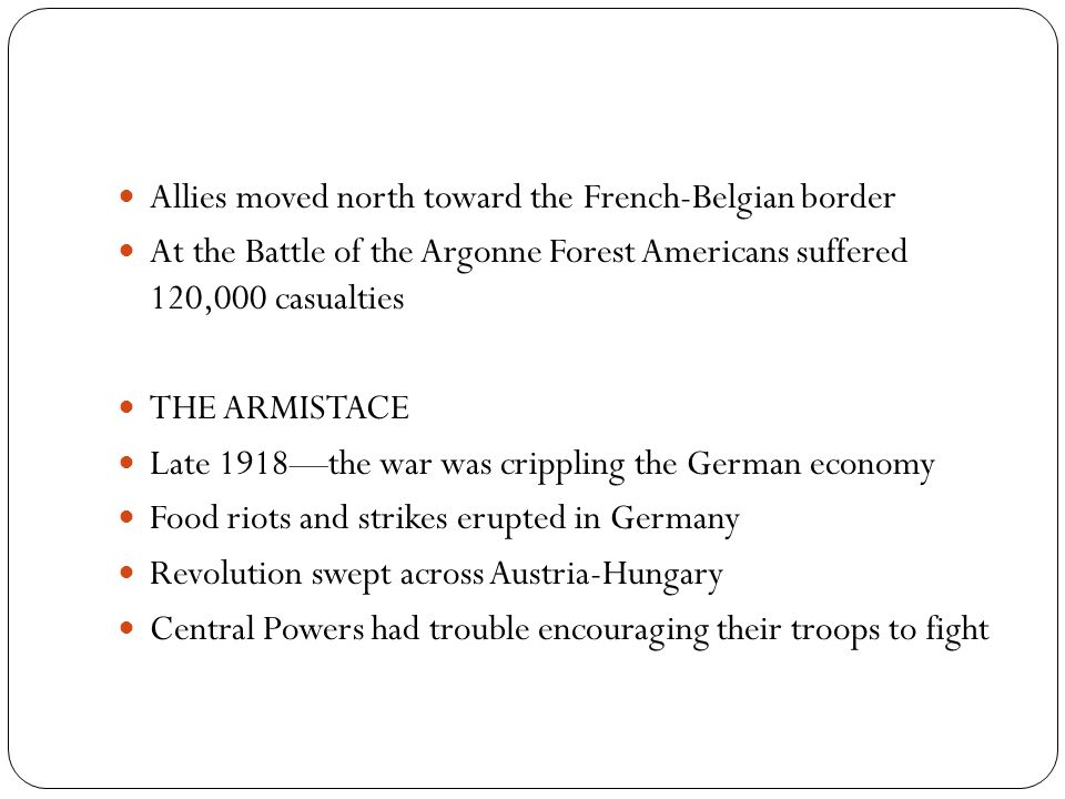 Allies moved north toward the French-Belgian border