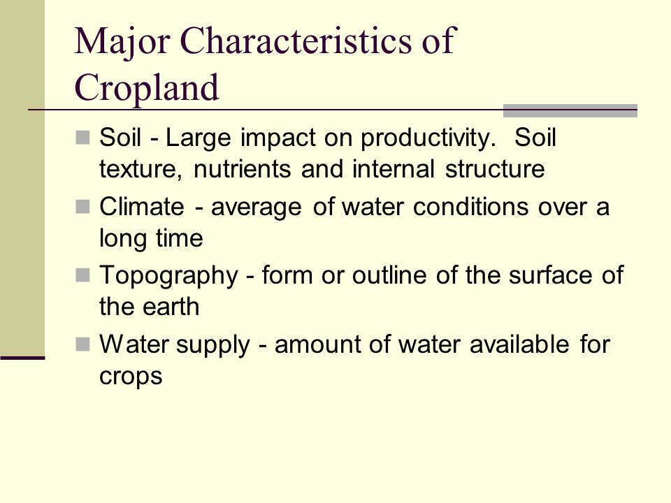 Soils and hydroponics management ppt video online download for Soil characteristics definition