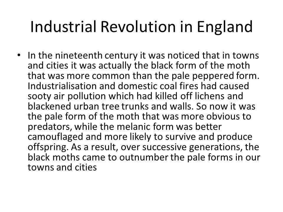 Industrial Revolution in England