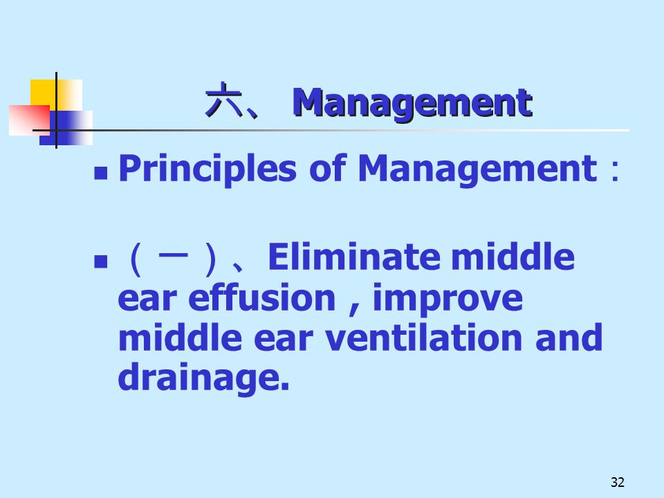 六、 Management Principles of Management: