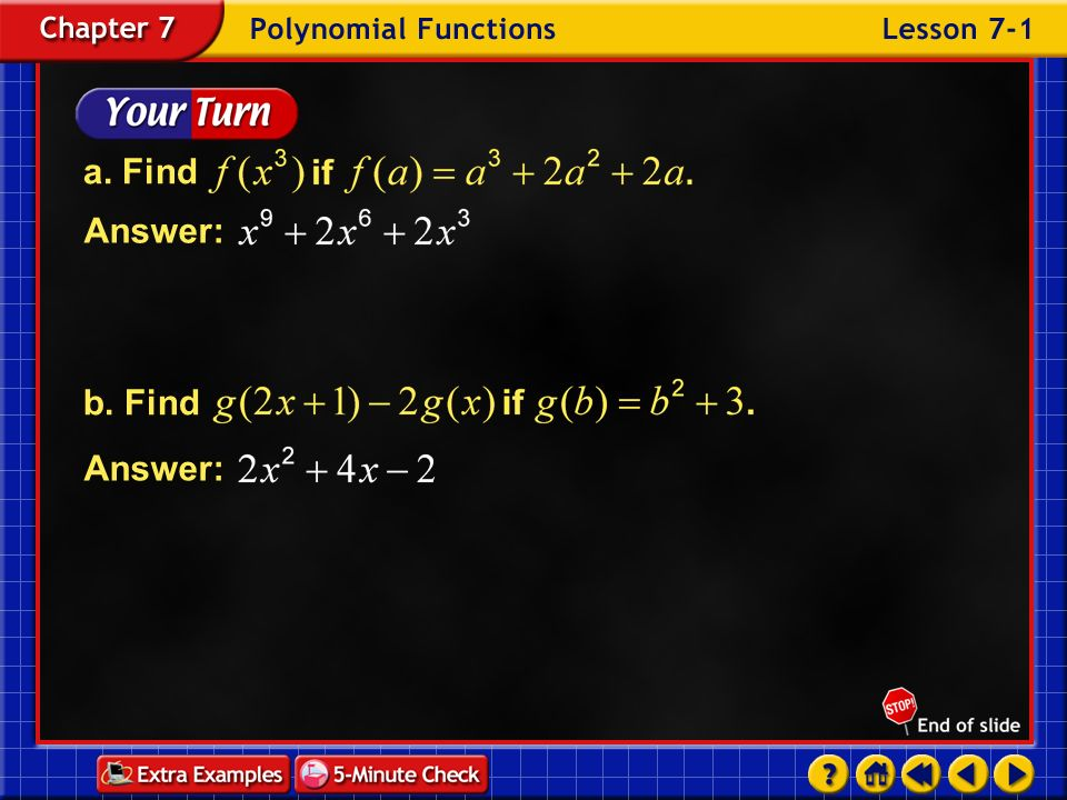 a. Find b. Find Answer: Answer: Example 1-3e
