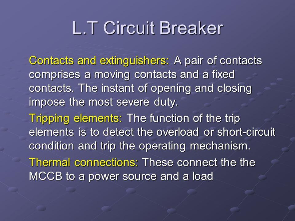 L.T Circuit Breaker