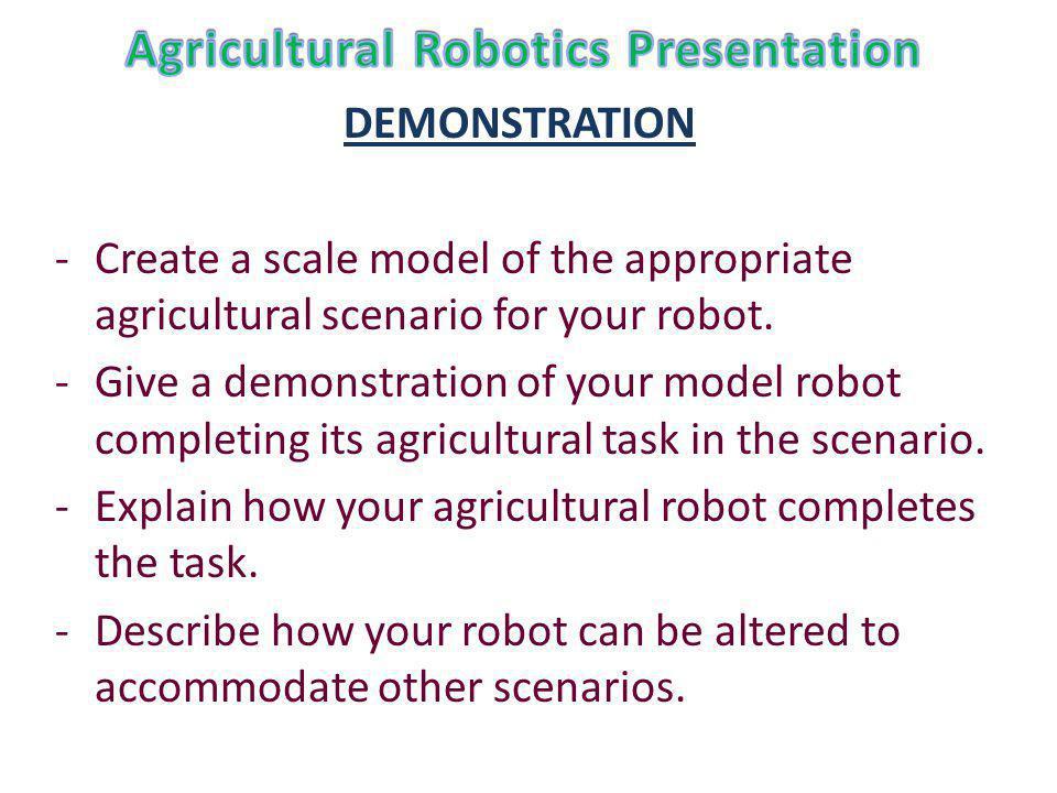 Agricultural Robotics Presentation