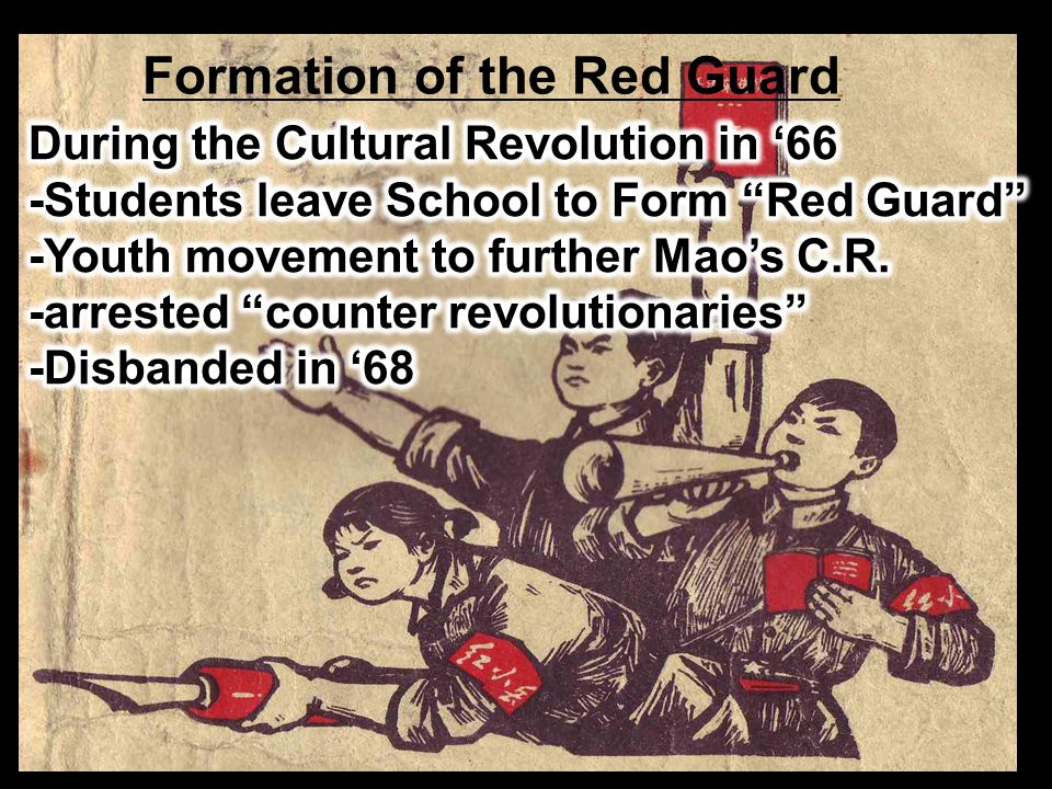 Formation of the Red Guard