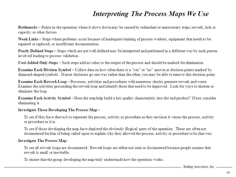 Interpreting The Process Maps We Use