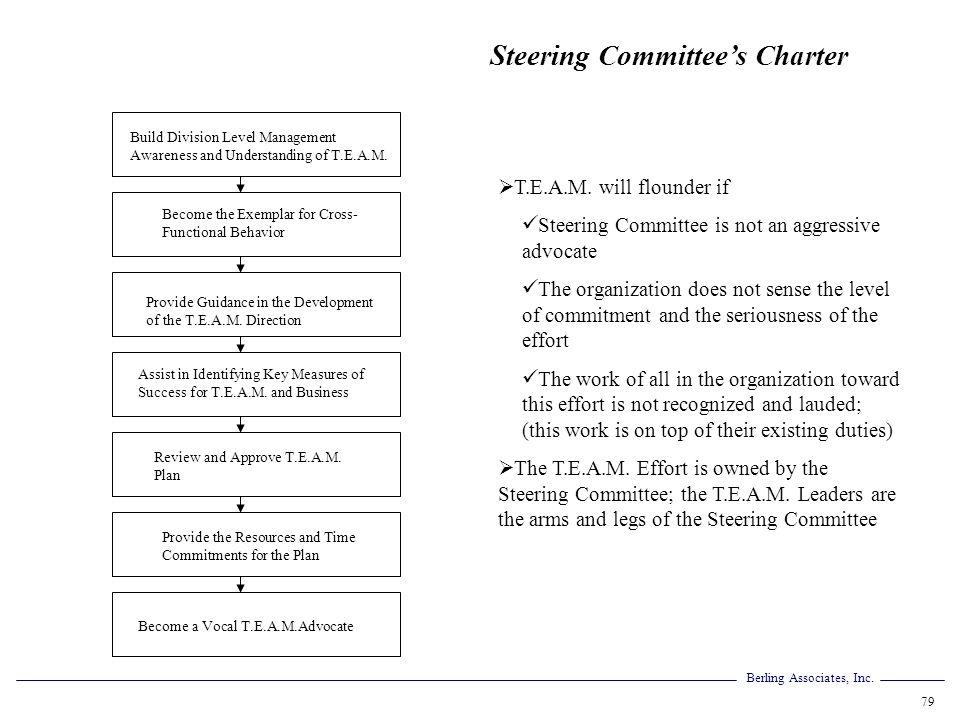 Steering Committee's Charter