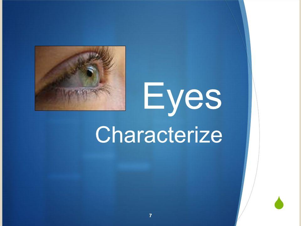 Eyes Characterize