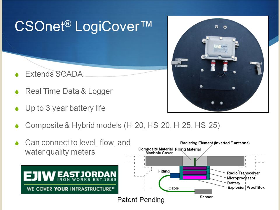 CSOnet® LogiCover™ Extends SCADA Real Time Data & Logger
