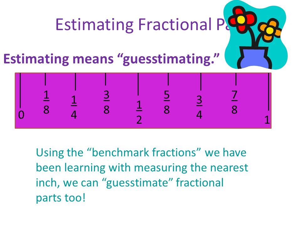 Estimating Fractional Parts
