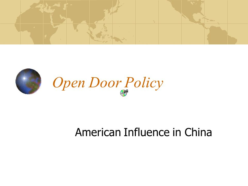 American Influence in China
