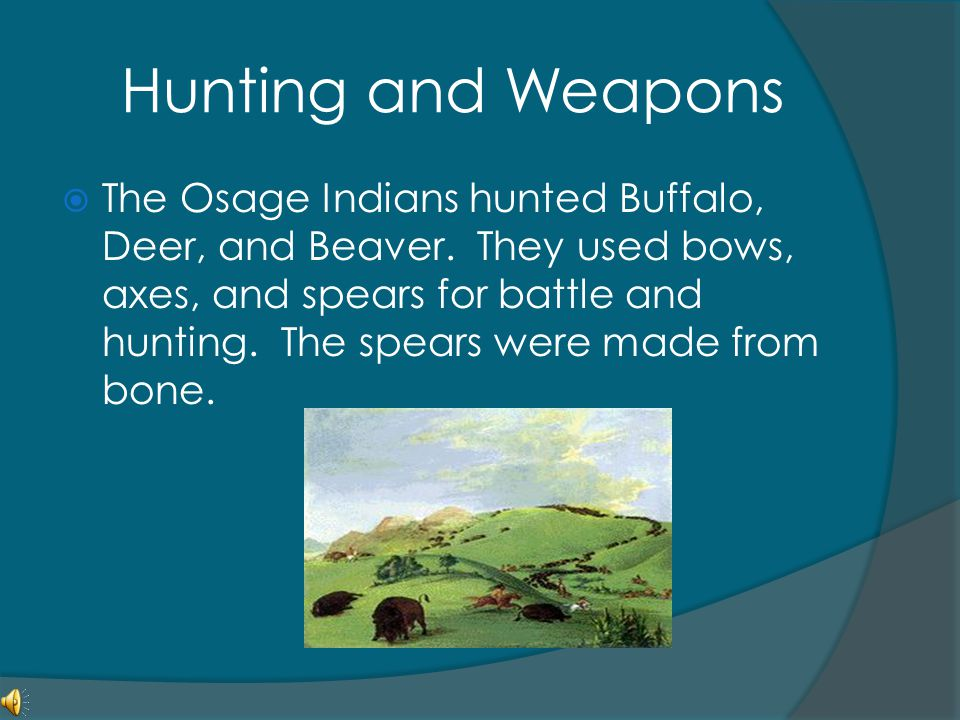 Hunting and Weapons