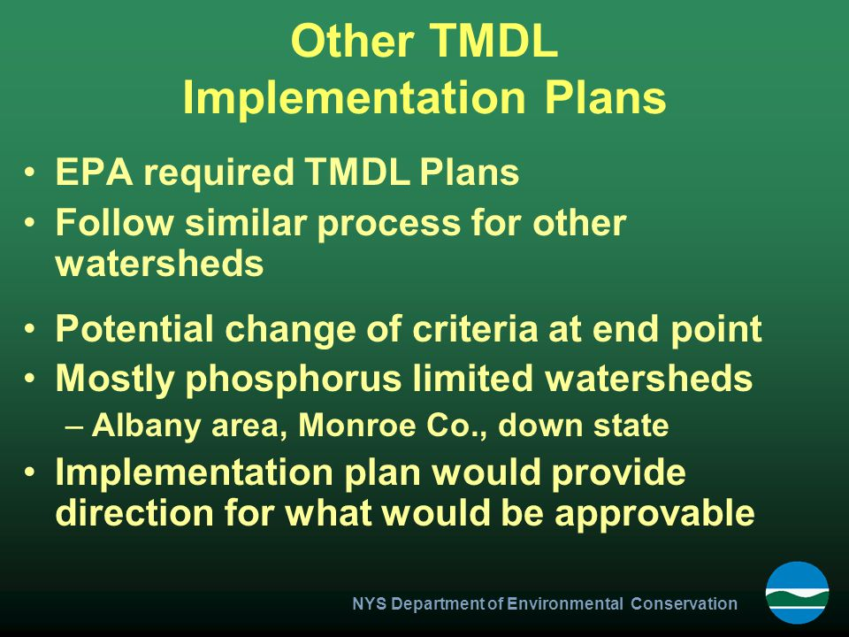 Other TMDL Implementation Plans