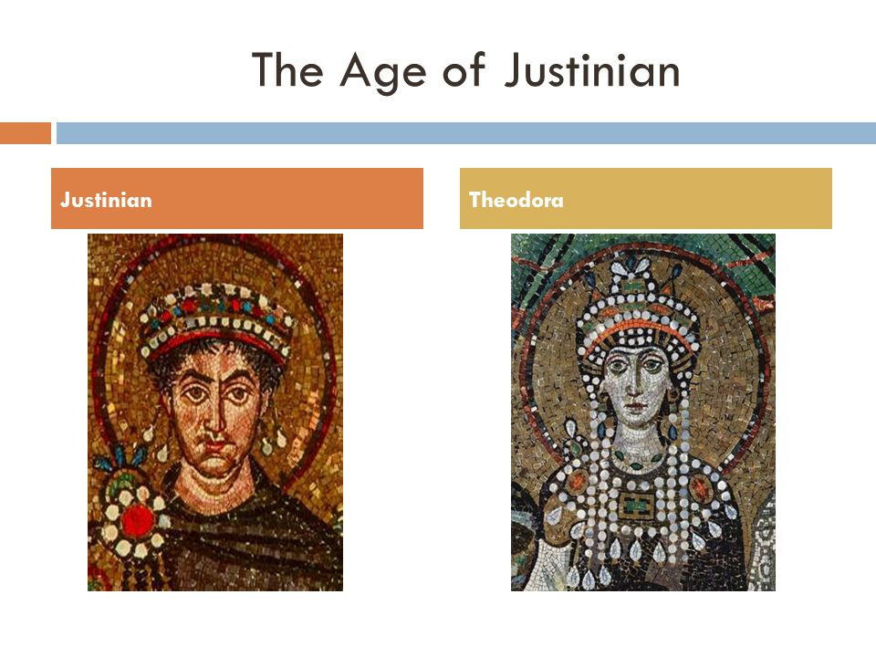 The Age The Age of Justinian