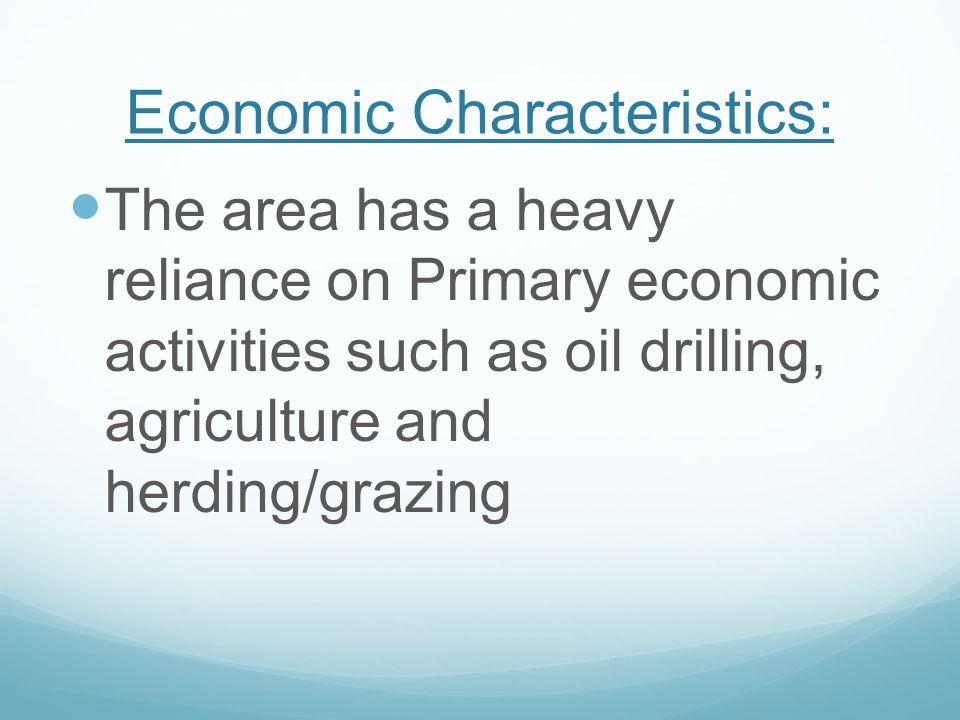 Economic Characteristics: