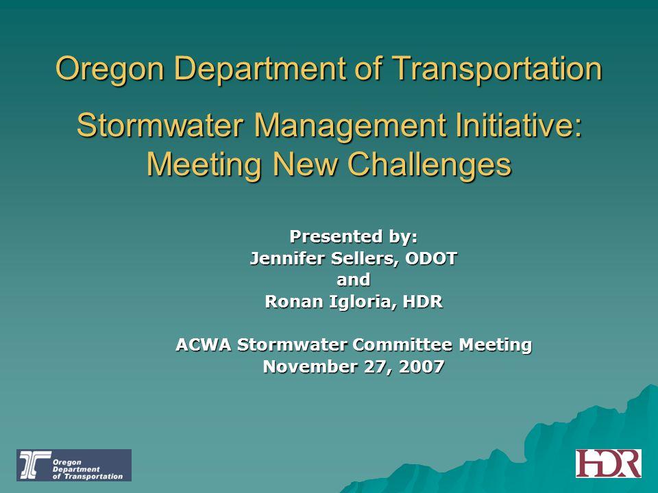 ACWA Stormwater Committee Meeting