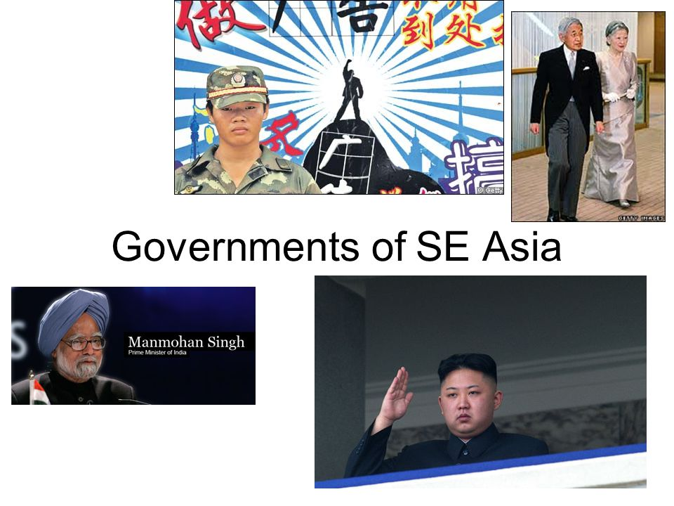 Governments of SE Asia