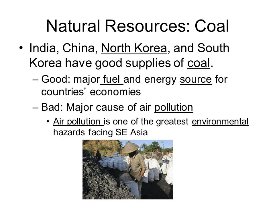 Natural Resources: Coal