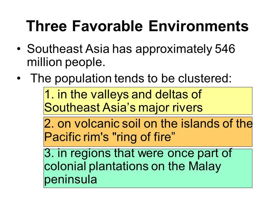 Three Favorable Environments