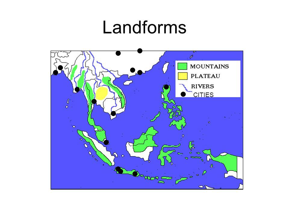 Landforms CITIES