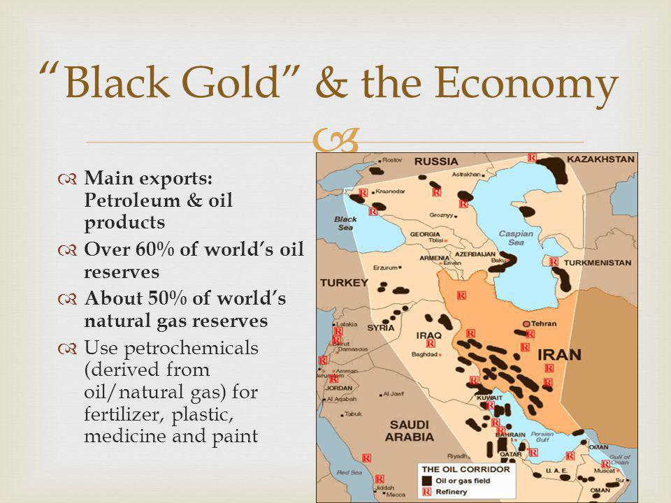 Black Gold & the Economy