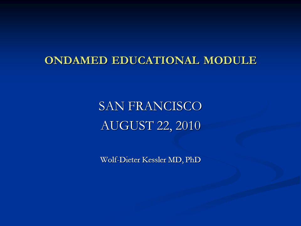 ONDAMED EDUCATIONAL MODULE
