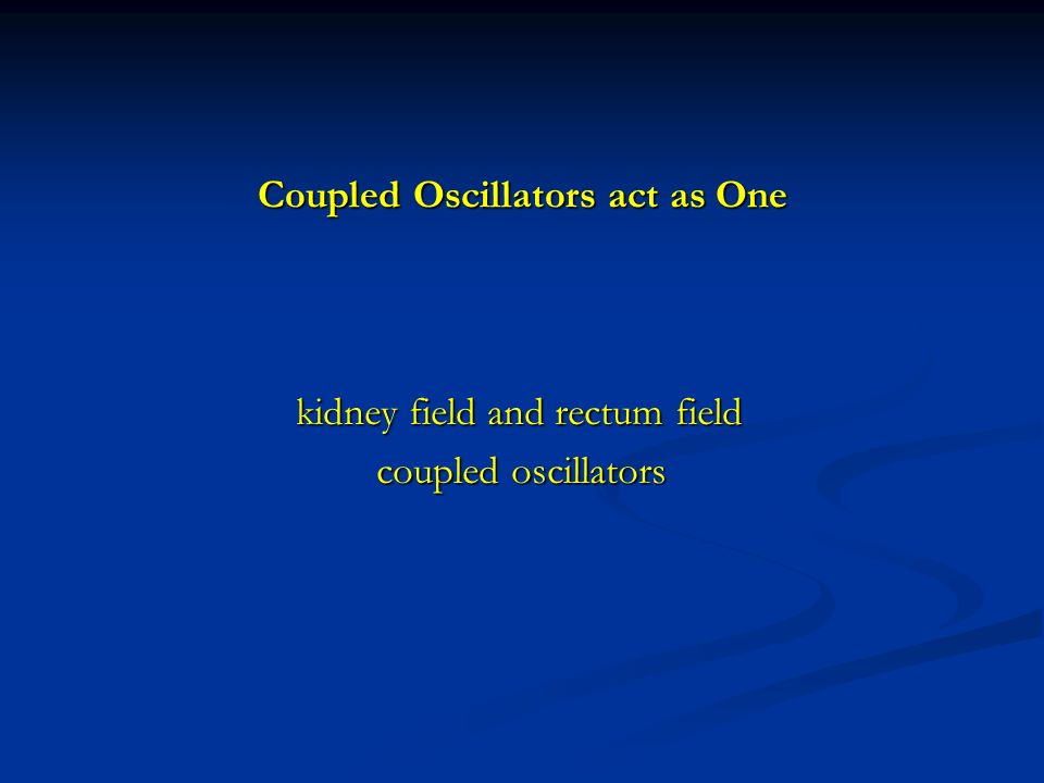 Coupled Oscillators act as One