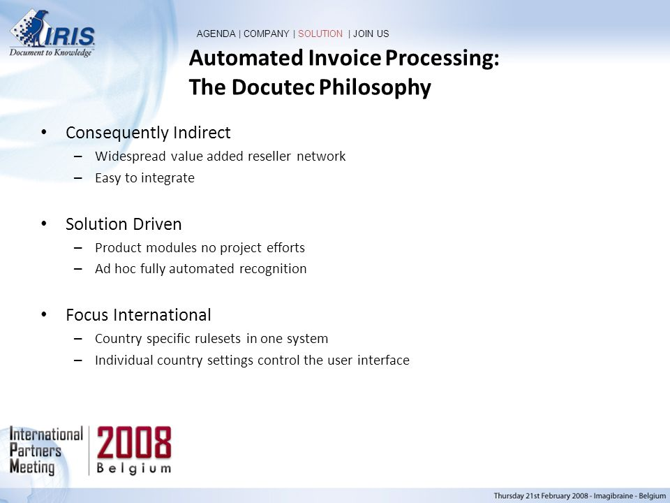 Automated Invoice Processing: The Docutec Philosophy