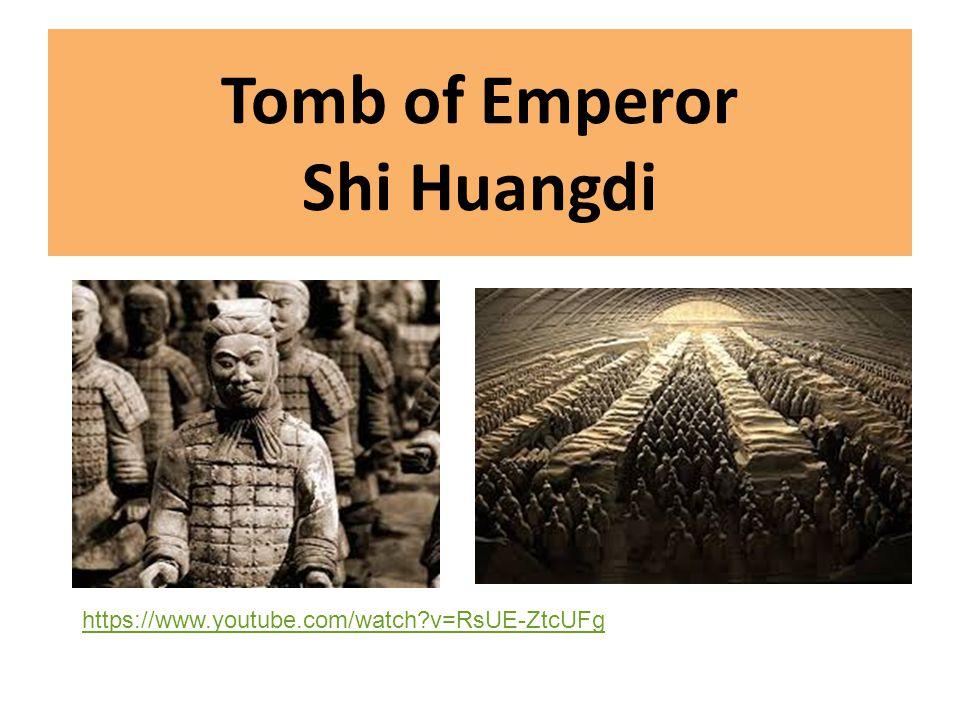 Tomb of Emperor Shi Huangdi
