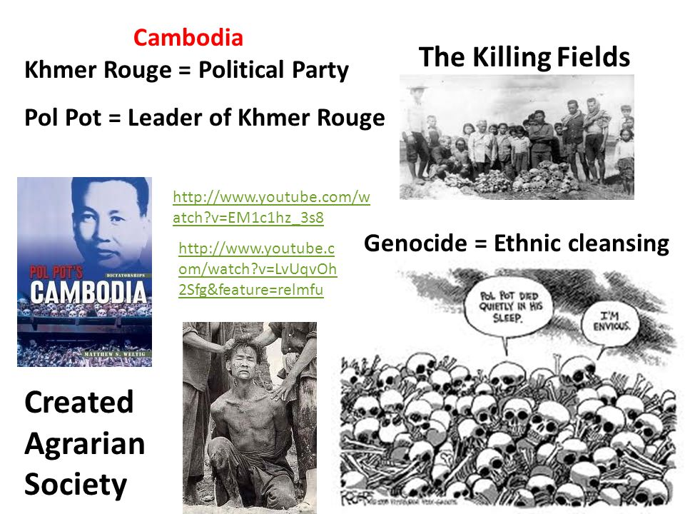 Genocide = Ethnic cleansing