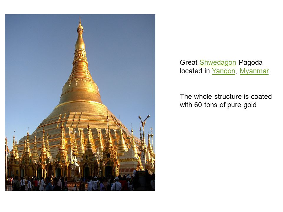 Great Shwedagon Pagoda located in Yangon, Myanmar.