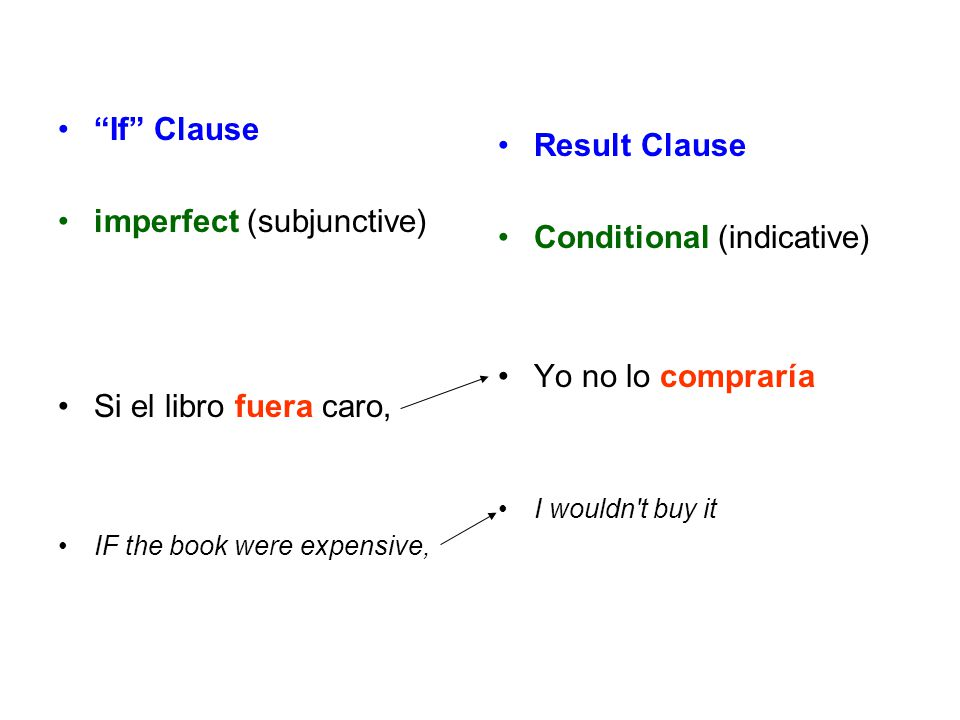 imperfect (subjunctive)