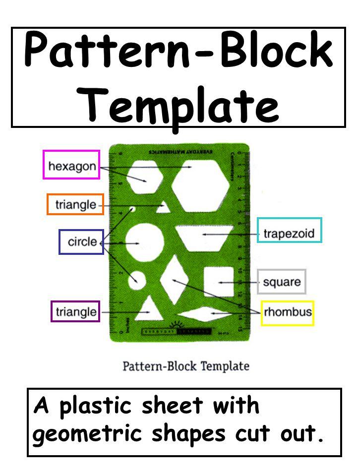 Pattern-Block Template