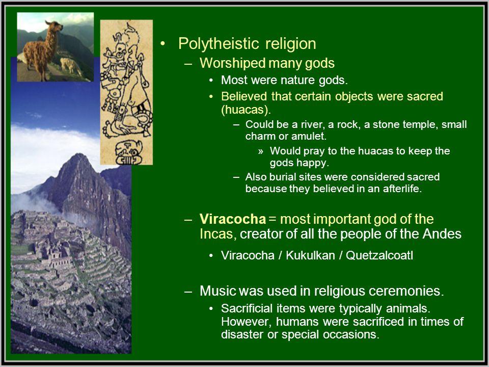 Polytheistic religion