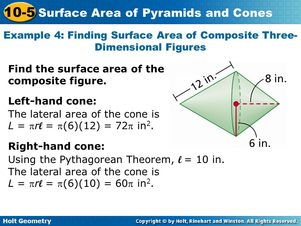 Example 4: Finding Surface Area of Composite Three-Dimensional Figures