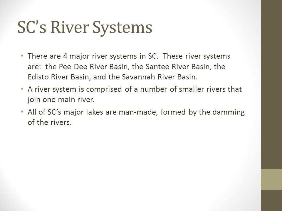 SC's River Systems