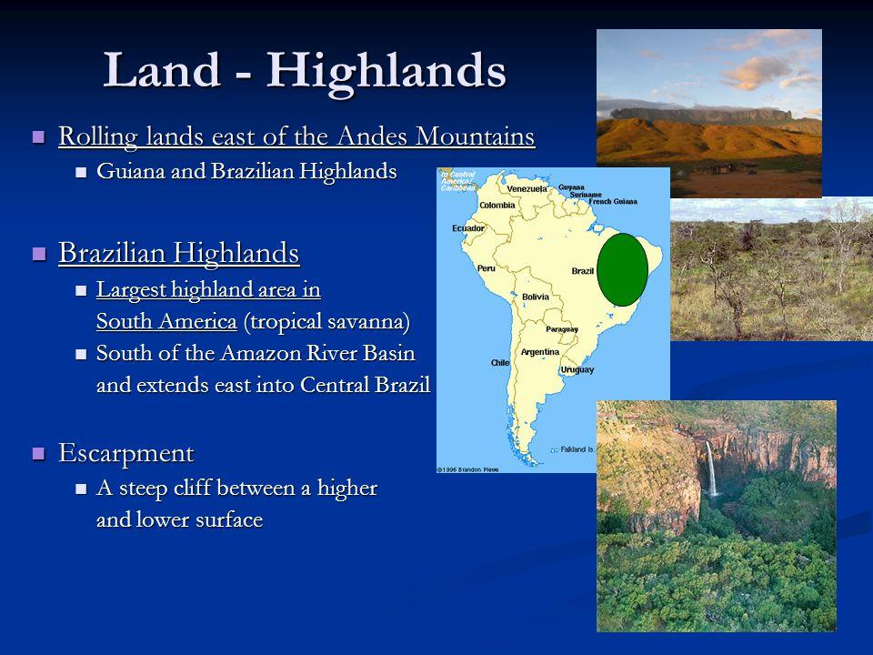 Land - Highlands Brazilian Highlands