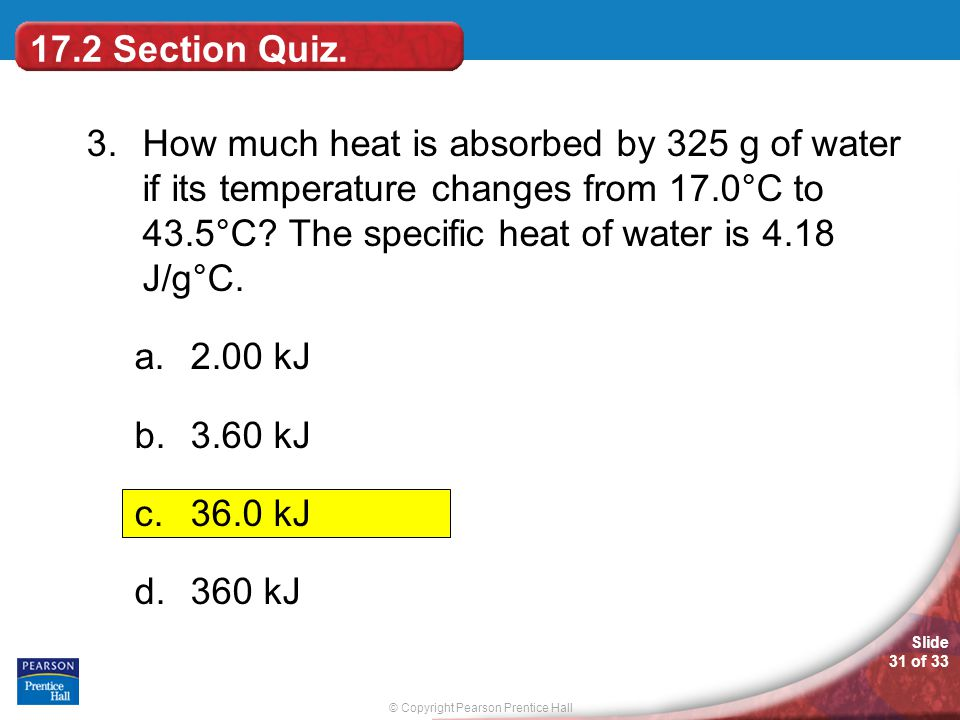 17.2 Section Quiz.
