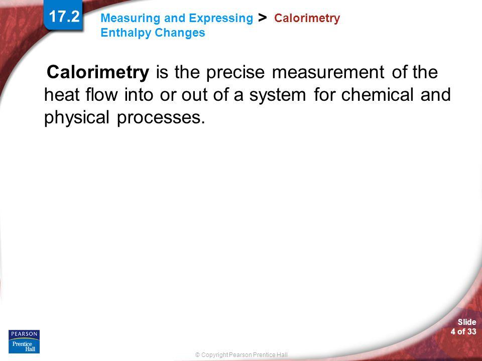 17.2 Calorimetry.