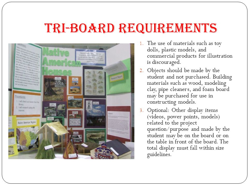 Tri-Board Requirements